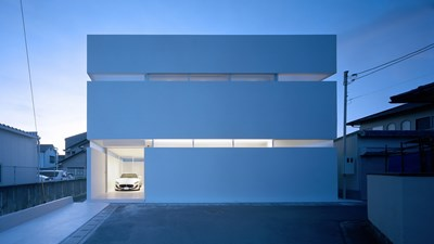 Снимки FujiwaraMuro Architects