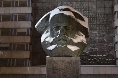 Кемниц е известен с големия бюст на Карл Маркс в центъра на града.