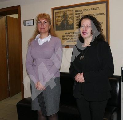 Кандидатките за шеф на спецсъда Мария Карагьозова (вляво) и Мариета Райкова Снимка: Пиер Петров СНИМКА: 24 часа