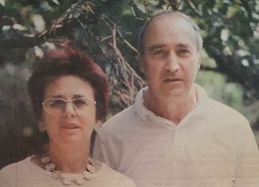 Юлия Берберян и съпругът й Георги Малеев. Снимки: Семеен архив и АРХИВ 168 ЧАСА