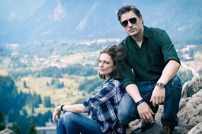 """Владо Карамазов и Теодора Духовникова си партнират в сериала """"Дяволското гърло""""."""