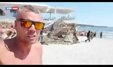 Учение на НАТО сред плажуващи на плажа във Варна