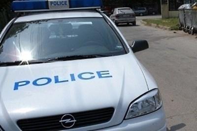 Полицията с мерки за безопасност СНИМКА: Архив