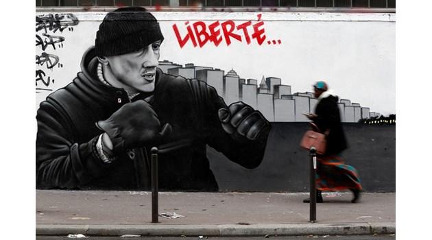 Помилваха с перце боксьора жълта жилетка, който скандализира Франция