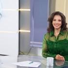 Мартина Ганчева в студиото на Нова тв СНИМКИ: КРАСЕНА АНГЕЛОВА И ЛИЧЕН АРХИВ