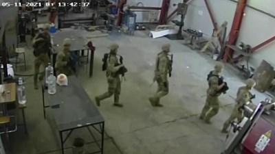 Нахлуването на военните в цеха КАДЪР: NOVA