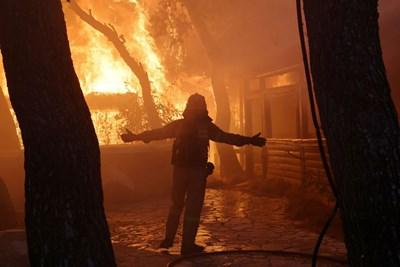 Пожар Снимка: Ройтерс