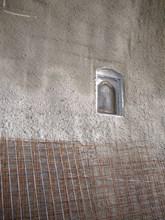 """Една от иконите в тунел """"Железница""""."""