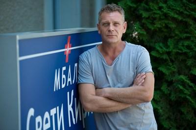 """Юлиан Вергов пак ще е в образа на Виктор Банков в  новия сезон на  """"Откраднат живот"""".  СНИМКА: НОВА ТВ"""