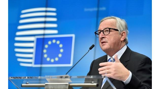 Юнкер: Нямаме намерение да задържаме Великобритания в ЕС