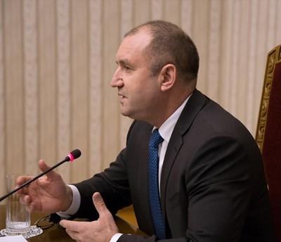Снимки: Прессекретариата на държавния глава