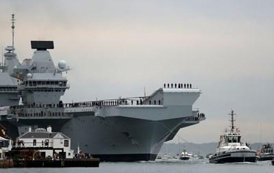 Два британски военни кораба тръгват към Черно море през май СНИМКА: РОЙТЕРС