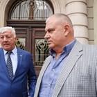 Превозвачът Петко Ангелов и кметът Здравко Димитров