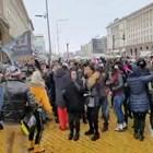 """Протест пред Министерски съвет - """"Марш към свободата"""" (ВИДЕО)"""