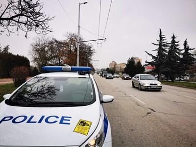 Пътна полиция е отработила местопроизшествието