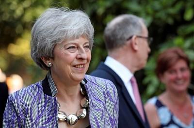 Британският министър-председател Тереза Мей СНИМКА: Ройтерс