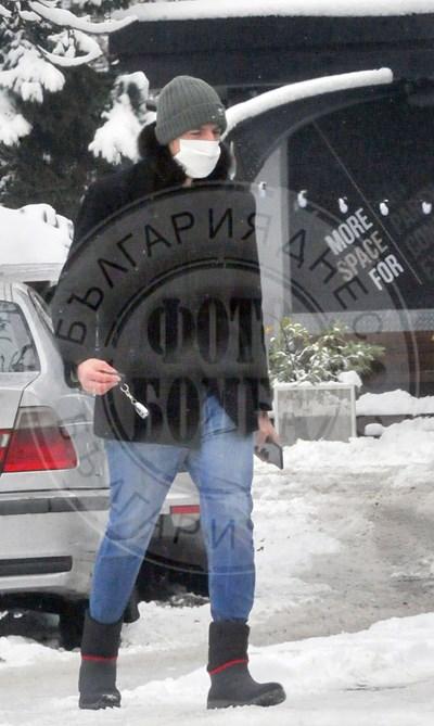 Лудият репортер на тест във ВМА (Снимки и видео)