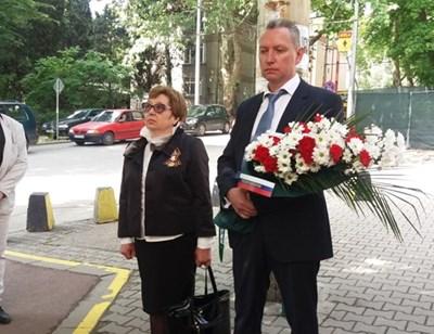 Предполагаемият изгонен първи секретар на Русия от България - Владимир Русяев.