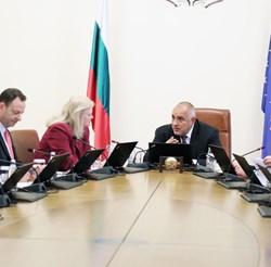 Бойко Борисов на среща с експерти от Държавния департамент по енергетика на САЩ СНИМКИ: Министерският съвет
