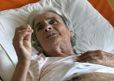 Баба Наска претърпя успешна операция в пловдивска болница СНИМКА: Евгени Цветков