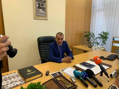 Кметът на Благоевград Илко Стоянов.