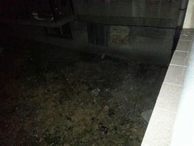 Тук е паднал мъжът Снимка: Харман.бг