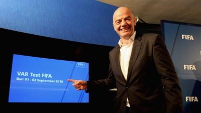 Джани Инфантино Снимка: ФИФА