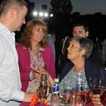 Кметът на Стара Загора Живко Тодоров на партито за 39-ия си рожден ден заедно със заместниците си Красимира Чахова и Иванка Сотирова (отляво надясно). Снимка: Ваньо Стоилов