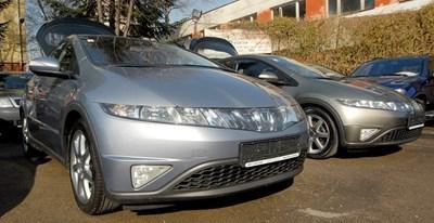 Автомобили със свалени номера заради изтекла шофьорска книжка.
