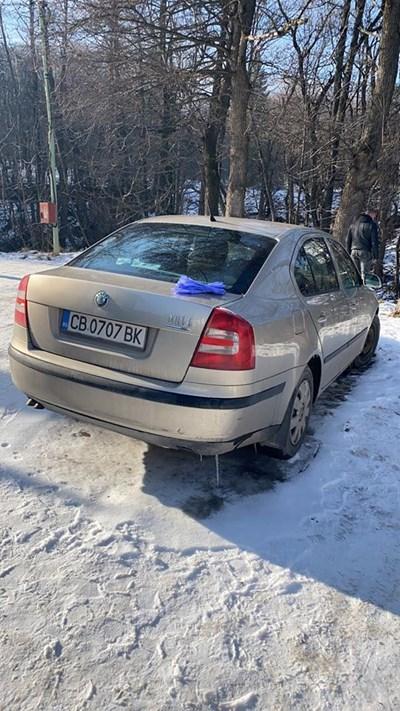 """Калина оставила колата в """"Драгалевци"""""""