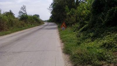 Проблемният участък на места е ограничен до 30 км/ч