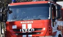 Пожар в бургаски квартал, гори едноетажна къща