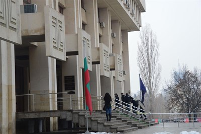Съдебната палата в Бургас..Снимка:Архив