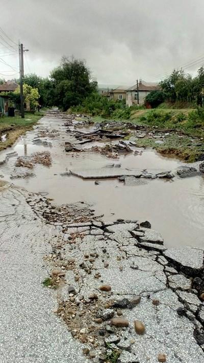 Отмениха бедственото положение в 5-те плевенски села. Снимка: Фейсбук.