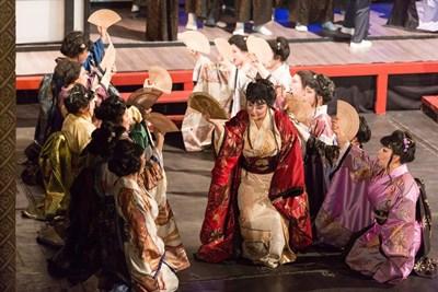 """Сцена от операта """"Мадам Бътерфлай"""""""