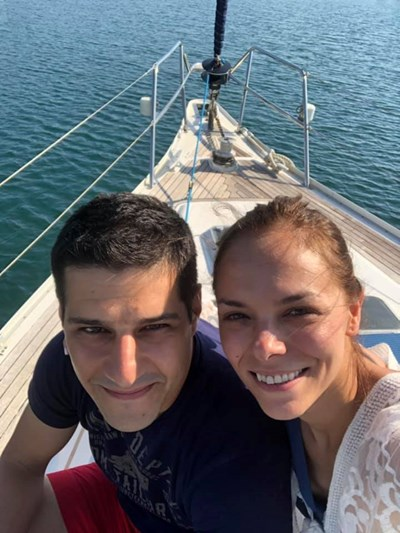 Йоанна Темелкова се омъжи за Мартин Гяуров в Гърция