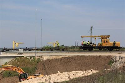 Изпитанията на Дунав мост 2 са показали, че отговаря на всички изисквания за скорост и натоварване.  Снимка: Ваня Ставрева
