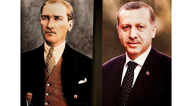 Ердоган срещу Ататюрк. Двата антипода, които се борят за Турция