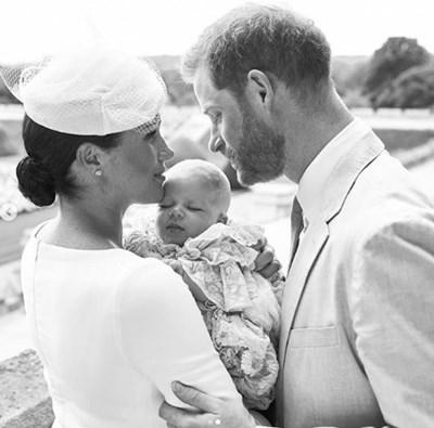 Меган, Арчи и Хари Снимка: Ройтерс