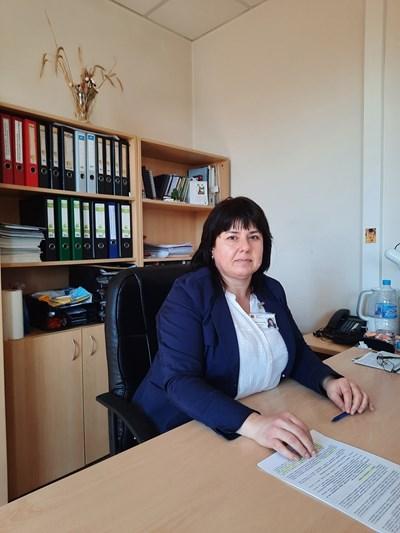 """Директорът на областната дирекция на фонд """"Земеделие"""" в Силистра Христина Николова"""