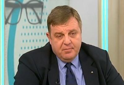 Министърът на отбраната Красимир Каракачанов Кадър: NOVA