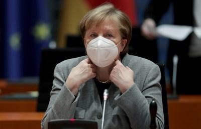 Канцлерката на Германия Ангела Меркел СНИМКА: Ройтерс