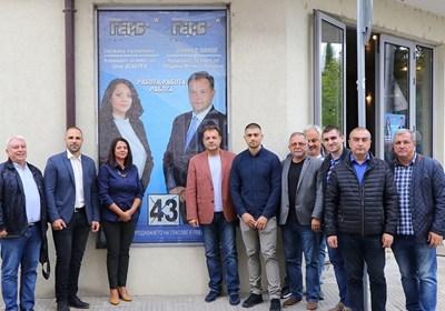 В Дебелец бе открит нов предизборен офис на ГЕРБ в присъствието на кандидата за трети мандат за кмет на община Велико Търново Даниел Панов