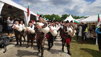 Гайдари традиционно откриват събора СНИМКА: Дима Максимова