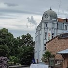 Свети Георги в небето над Пловдив