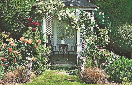 Малките форми в градината