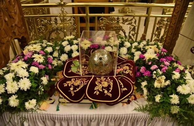 Саркофаг за главата на света Марина