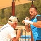 Кобрата не се плаши от жегата - тренира в Палма де Майорка