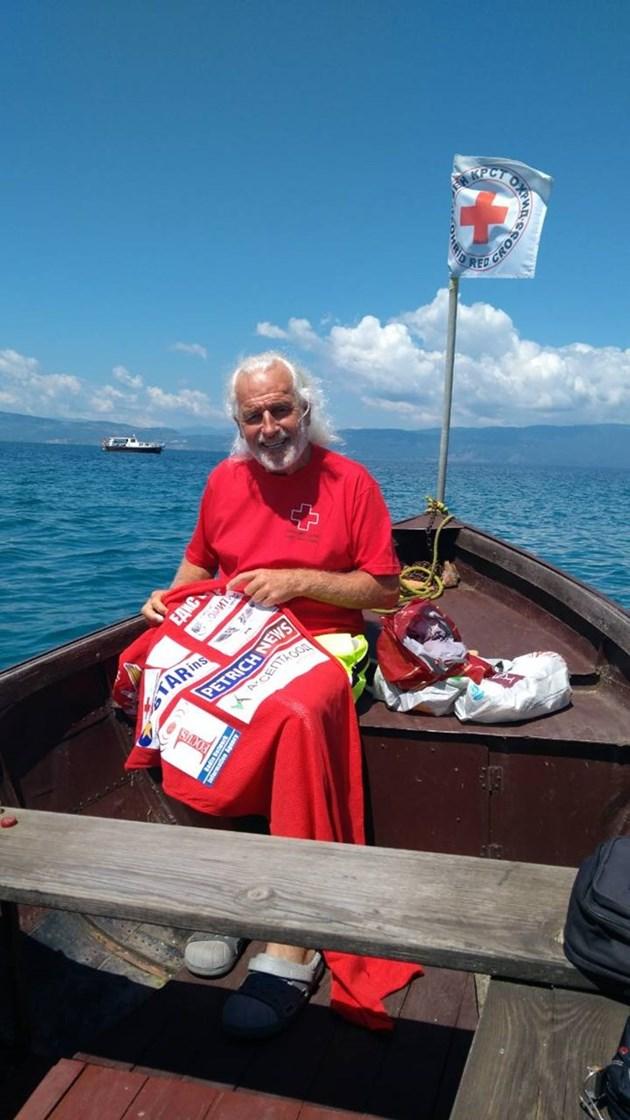 Човекът амфибия Яне Петков: Правя по-велик номер от Худини