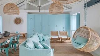 Синя мечта в жилището (галерия)